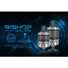 Ambition Mods Bishop MTL RTA 4ml Intro