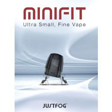 Justfog Minifit Pods 3EA Gesamtansicht