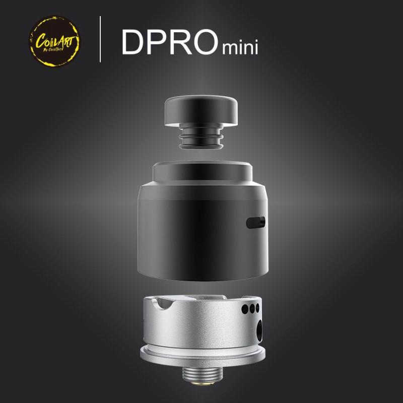 CoilArt DPRO Mini RDA Bauteile