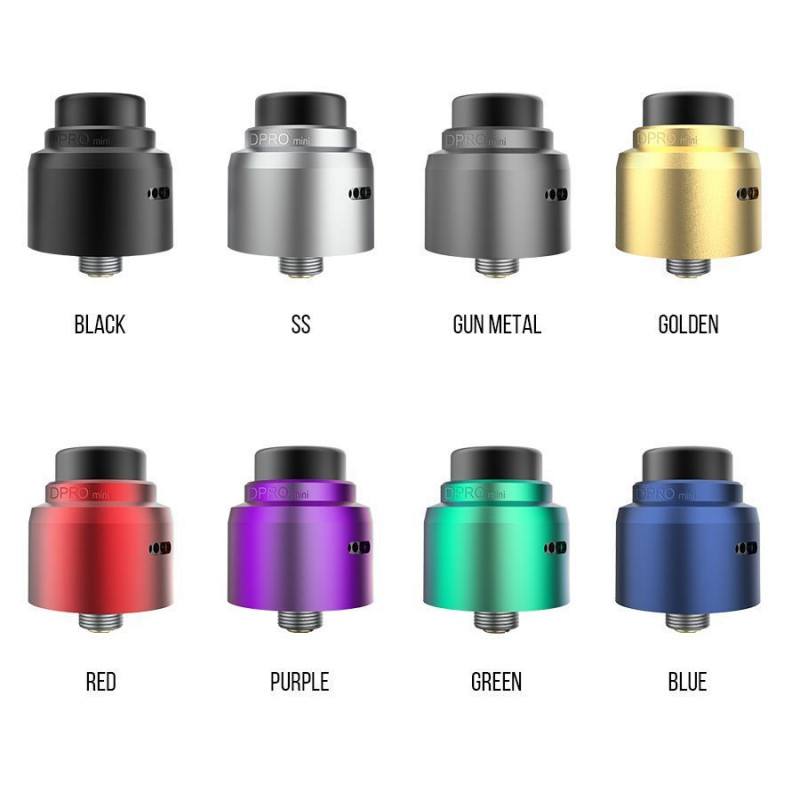 CoilArt DPRO Mini RDA Farben