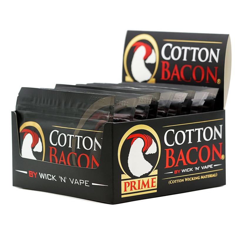Wick 'n' Vape Cotton Bacon Prime Schachtel