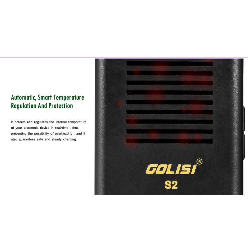 Golisi S2 Smart Charger Temperaturregulierung