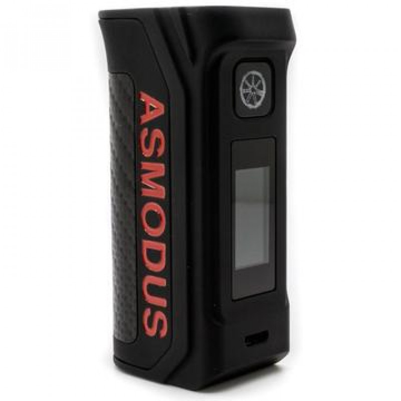 Asmodus Amighty 100W Schwarz/Rot Ansicht