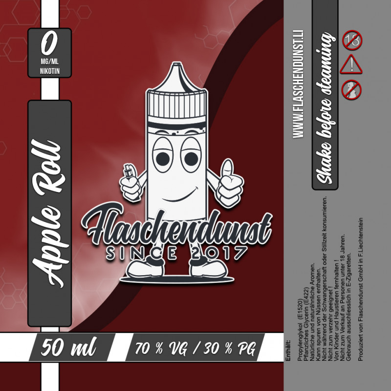 Flaschendunst Apple Roll Logo