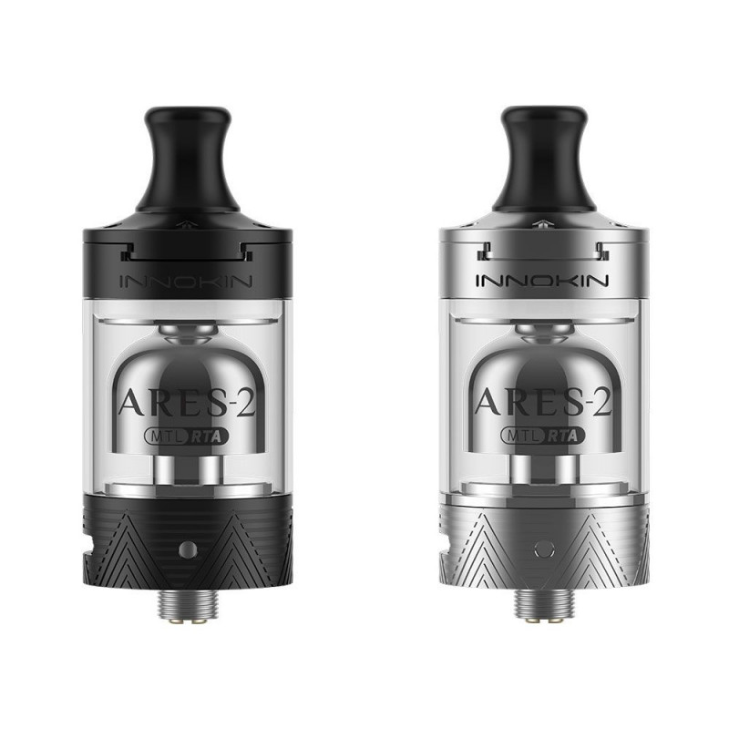 Innokin Ares-2 MTL RTA black und silver