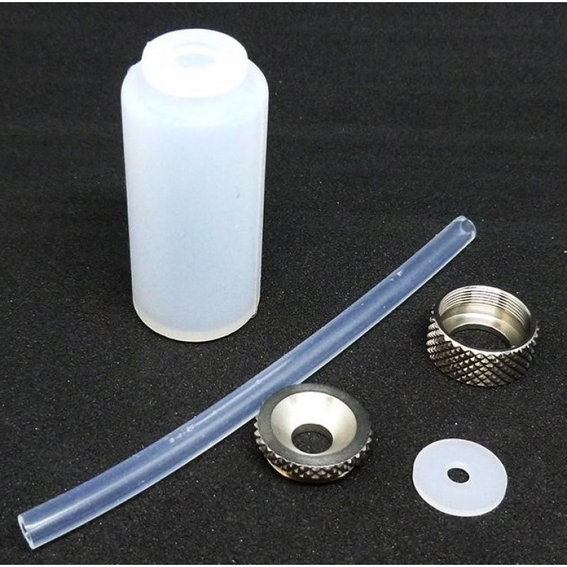 Mod Maker Dinky Silicone Squonker Bottle Kit (Dark/Light) white parts