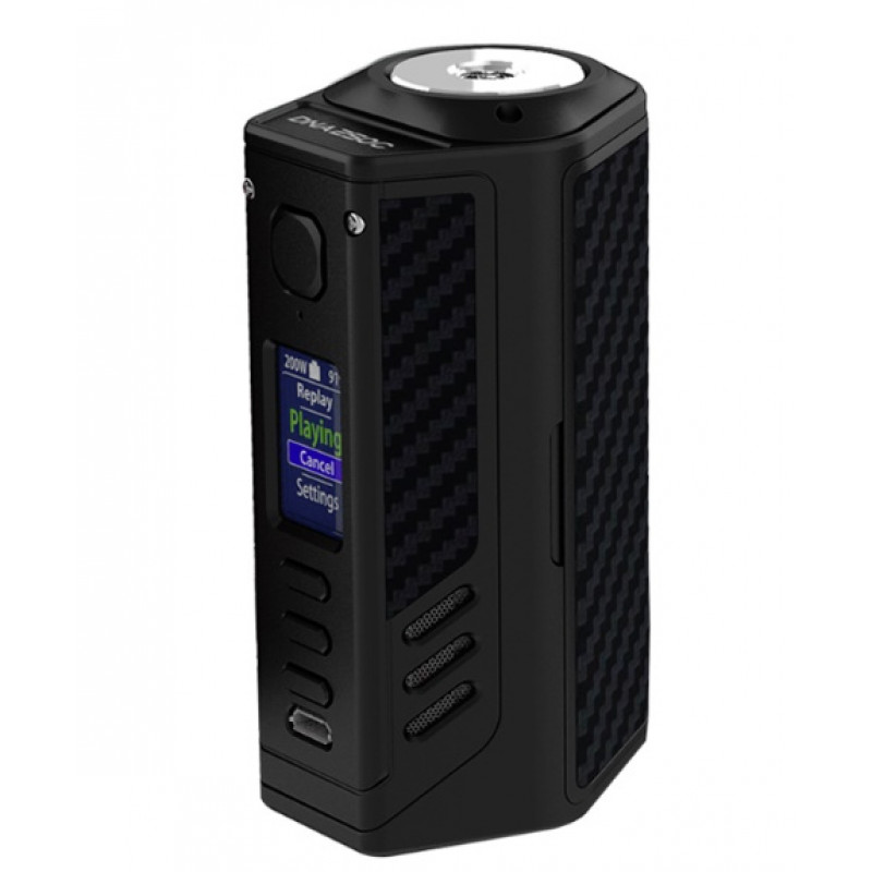 Lost Vape Triade DNA250C Black-Black Kevlar