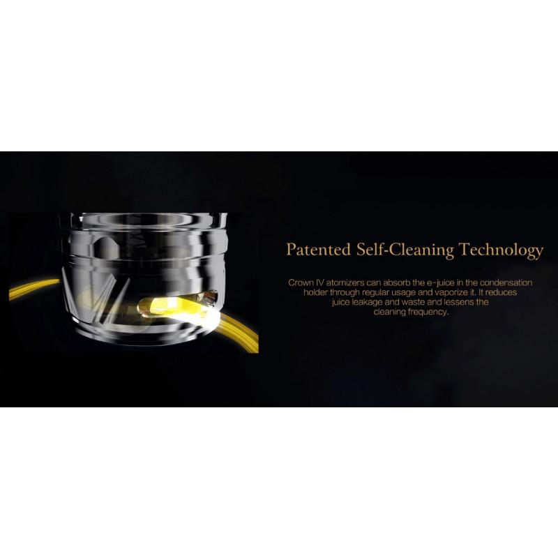 Uwell Crown 4 patentierte Selbstreinigung