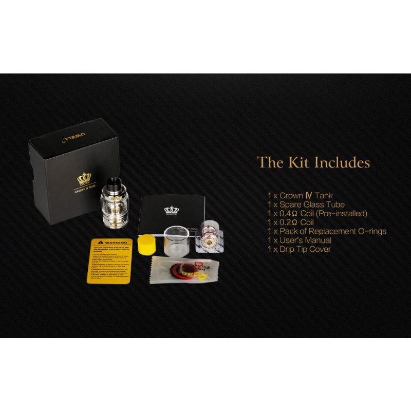 Uwell Crown 4 Lieferumfang