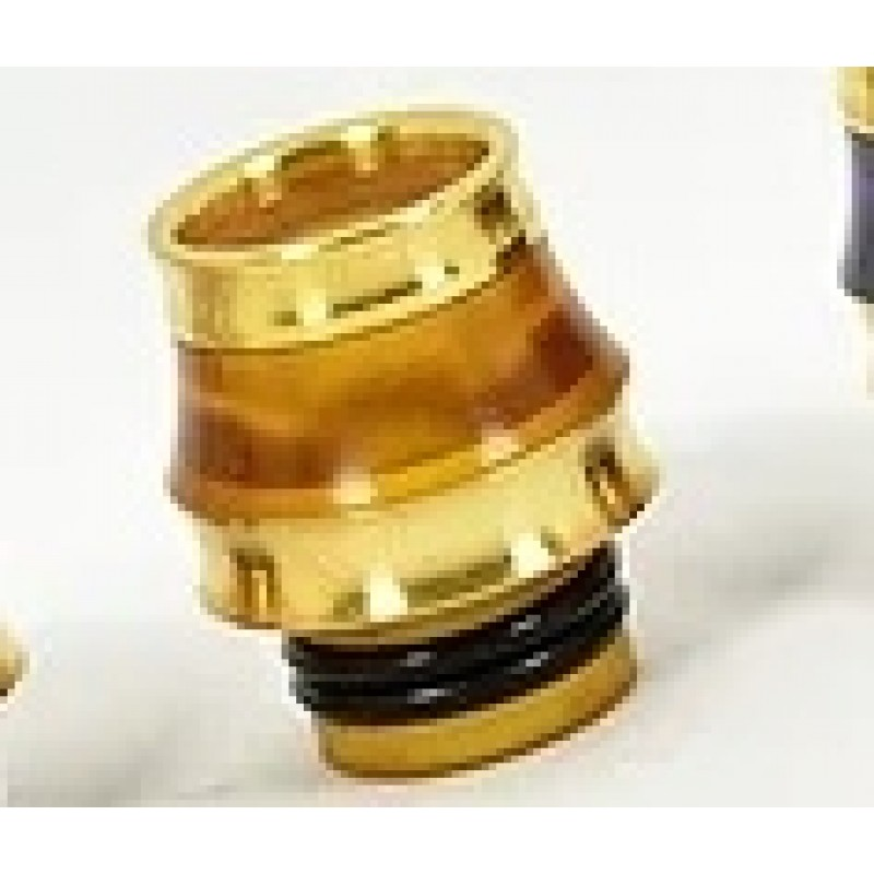 Koncio Mods Drip Tip Hybrid 24k Gold Ansicht Ultem