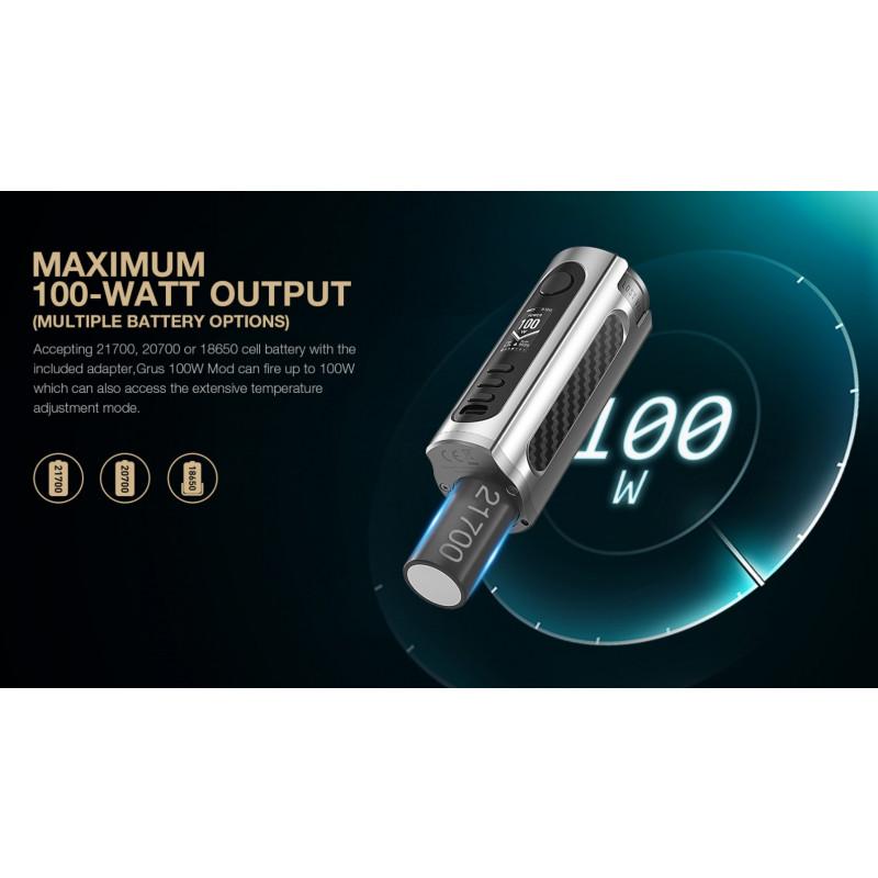 Lost Vape Grus 100W Leistung im Watt Modus