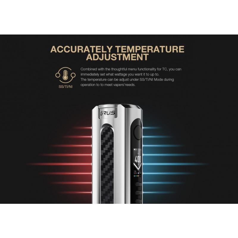 Lost Vape Grus 100W Temperaturkontrolle