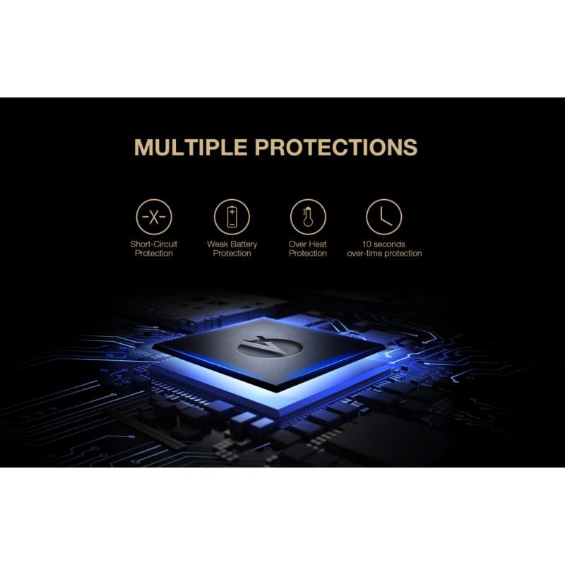 Lost Vape Grus 100W Schutzfunktionen Chip