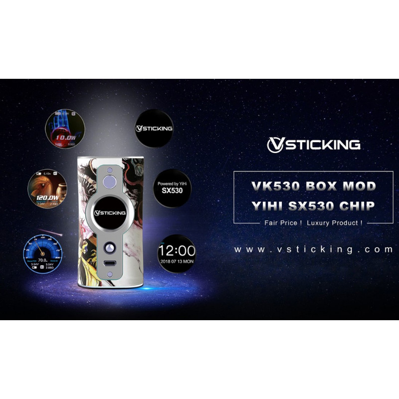 Vsticking VK530 Mod Features