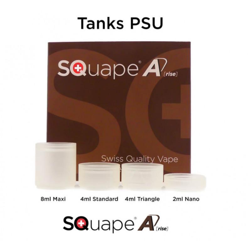 Stattqualm Squape A[rise] PSU Tankglas