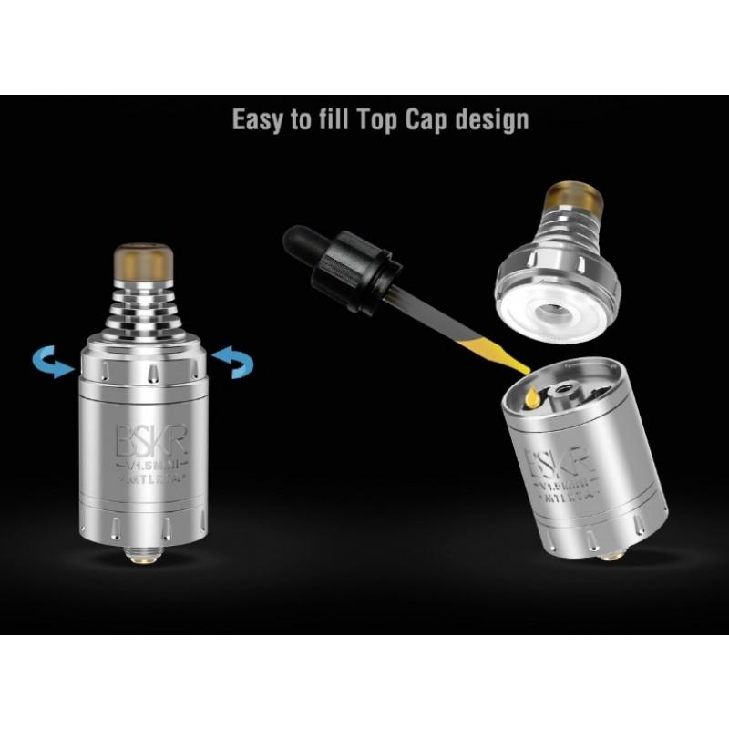 Vandy Vape Berserker V1.5 Mini MTL RTA Top Filling