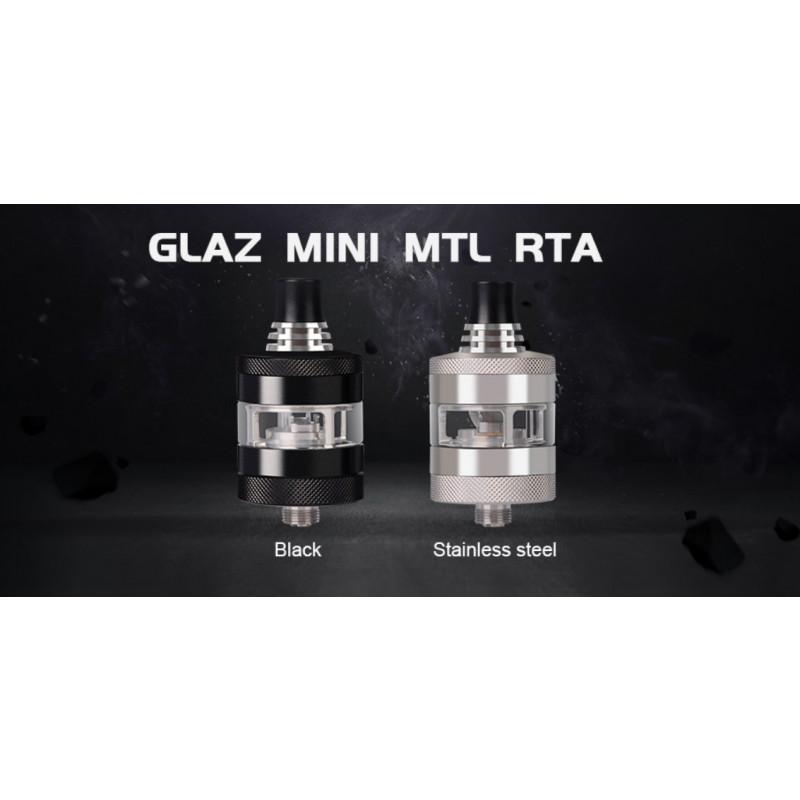 Steam Crave Glaz Mini RTA 2ml schwarz und Edelstahl