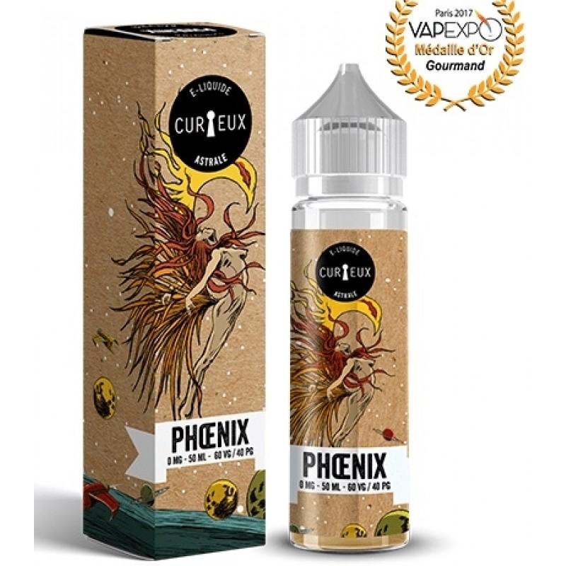 Curieux Astrale Phoenix Flasche