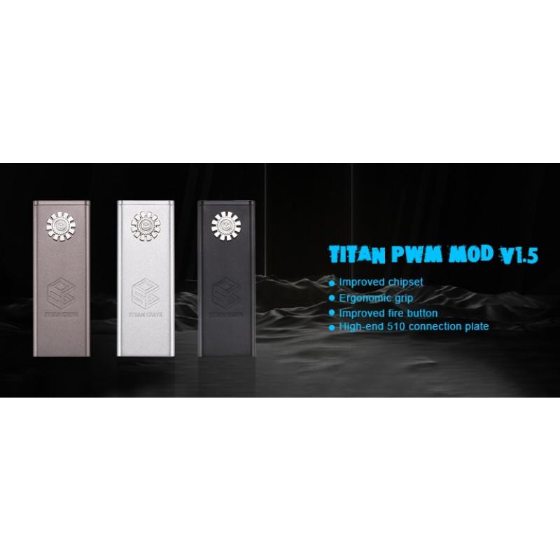 Steam Crave Titan PWM Mod V1.5 Einführung