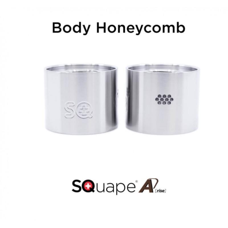 "Stattqualm Squape A[rise] Gehäuse ""Honeycomb"" Ansicht"