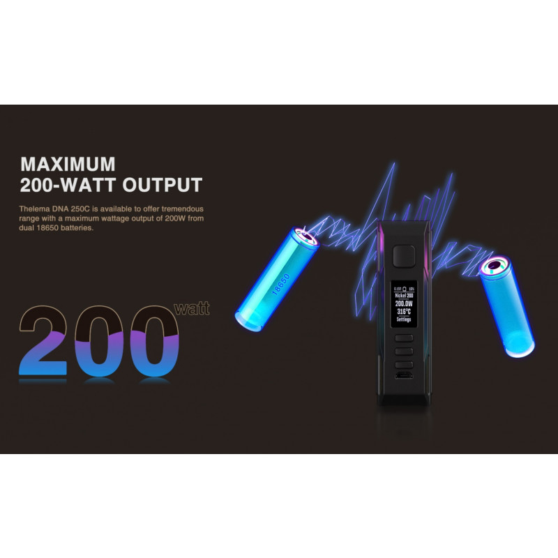 Lost Vape Thelema DNA250C Mod maximale Leistung