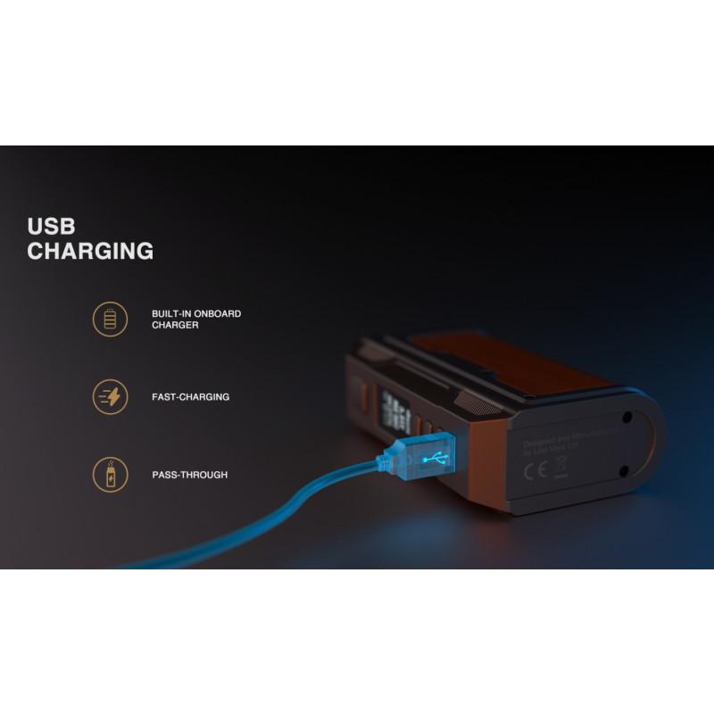 Lost Vape Thelema DNA250C Mod USB Anschluss für Firmware Updates