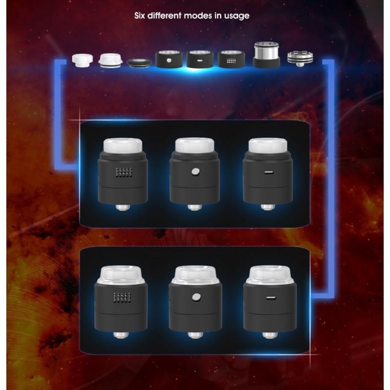 Vandy Vape Widowmaker RDA Konfigurationsmöglichkeiten