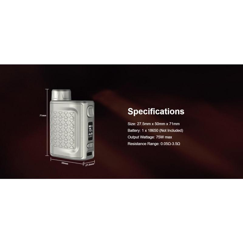 Eleaf iStick Pico 2 75W Mod Spezifikationen