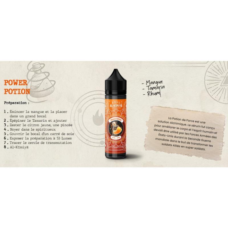 Al-Kimiya Power Potion Rezeptur