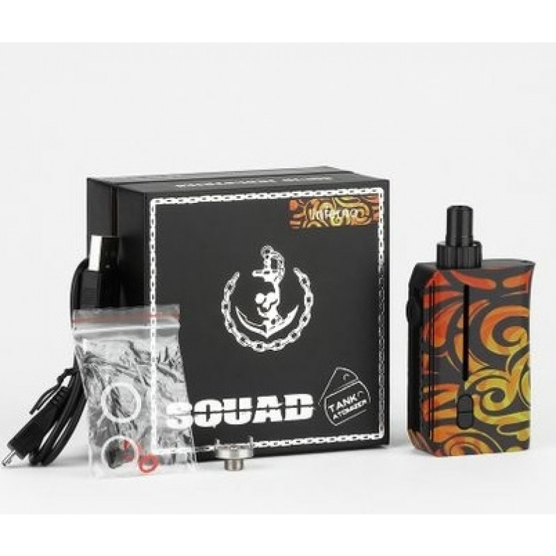 Squid Industries Squad Tank Atomizer Kit Lieferumfang