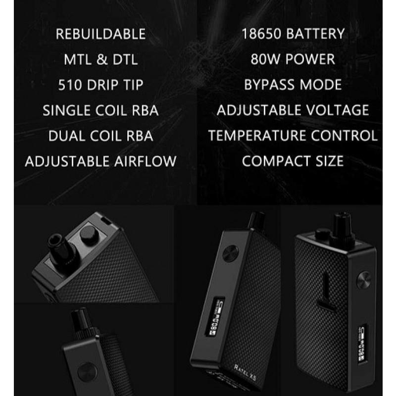 Mechlyfe Ratel XS AIO 80W Features