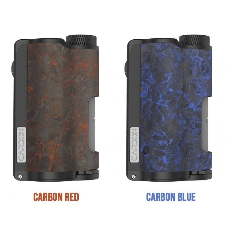 Dovpo Topside Dual Carbon Farben Carbon Blue und Carbon Red