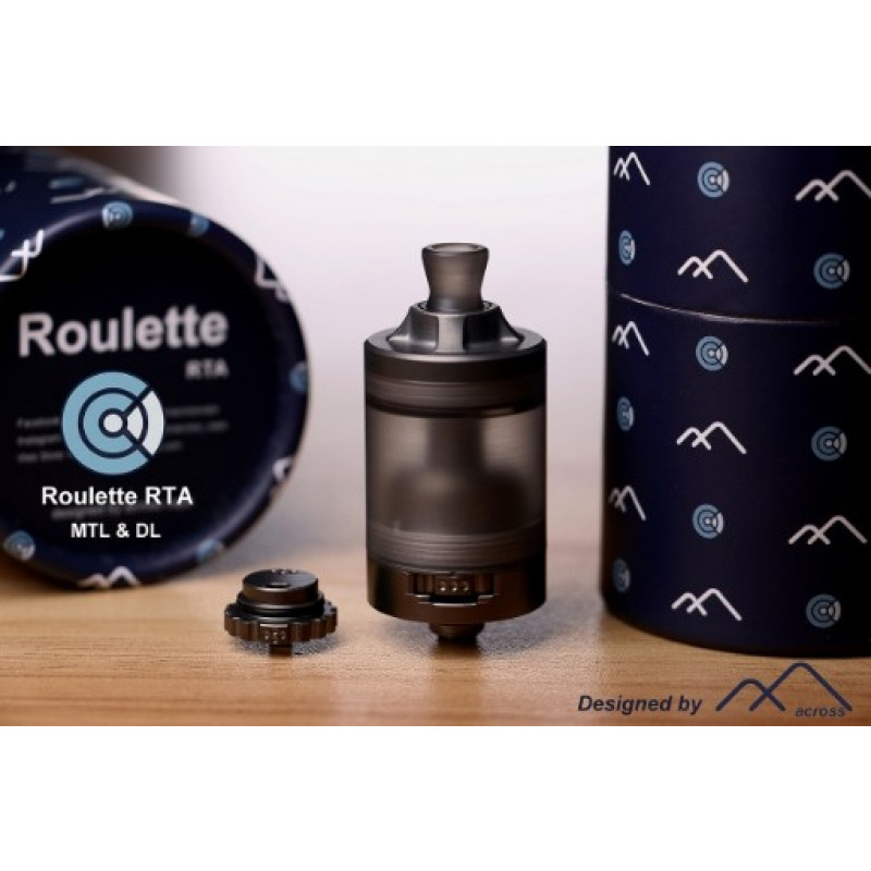 Across Vape Roulette RTA mit Verpackung und Air Roulette
