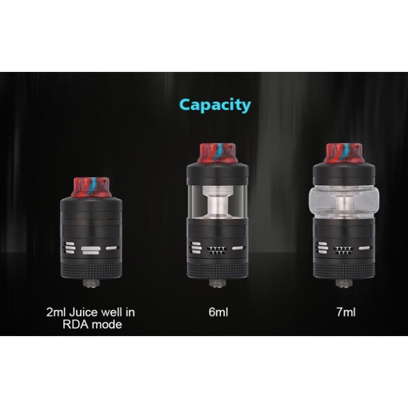 Steam Crave Aromamizer V3 RDTA Advanced Kit Füllvolumen