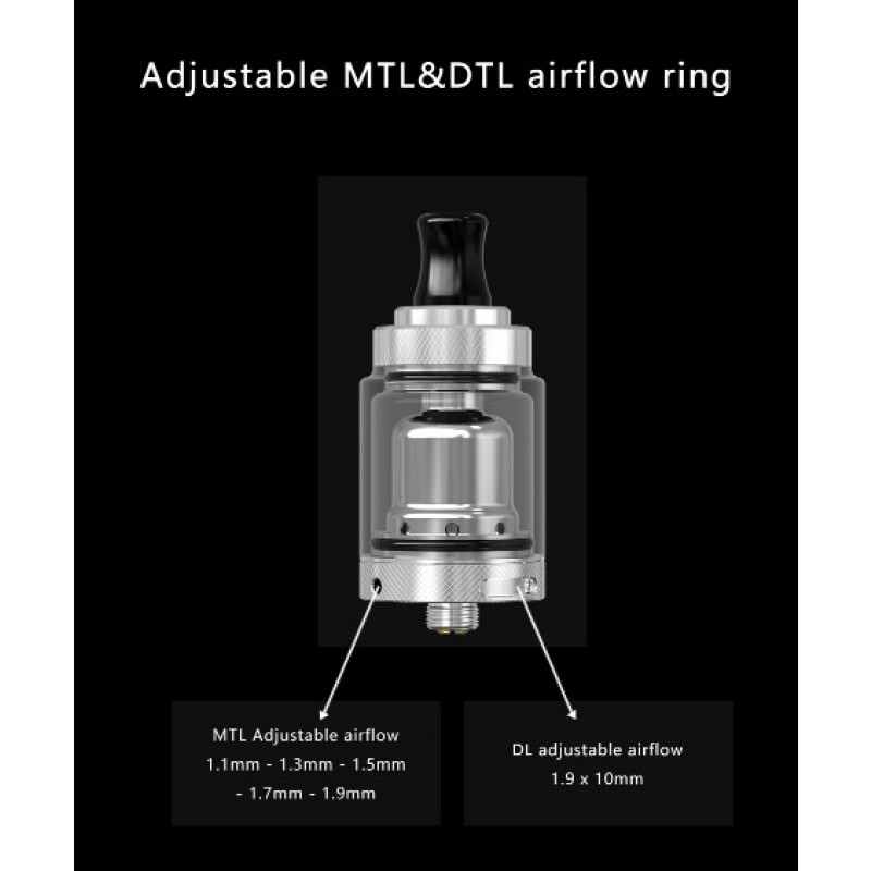 Mechlyfe XRP RTA Advanced Kit Airflow Einstellungen