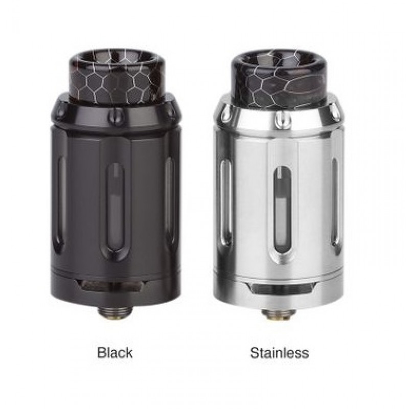 Squid Industries Peacemaker RTA 25mm Single Coil Ansicht beide Farben