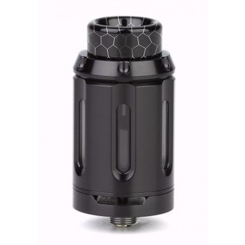 Squid Industries Peacemaker RTA 25mm Single Coil Ansicht Tank Black