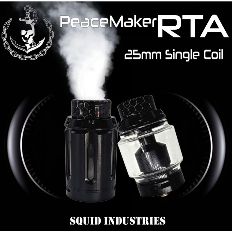 Squid Industries Peacemaker RTA 25mm Single Coil Intro