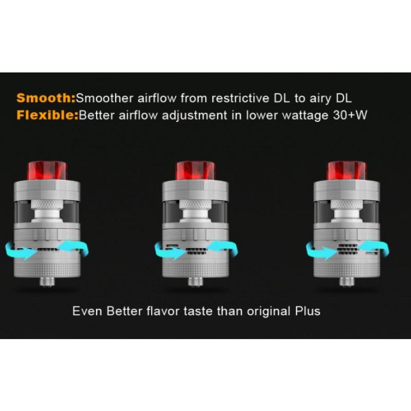 Steam Crave Aromamizer Plus V2 RDTA Advanced Kit Ansicht Airflow Einstellung