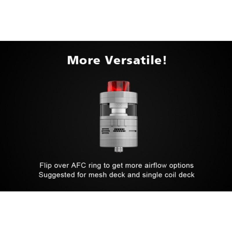 Steam Crave Aromamizer Plus V2 RDTA Advanced Kit Erklärung AFC Flip