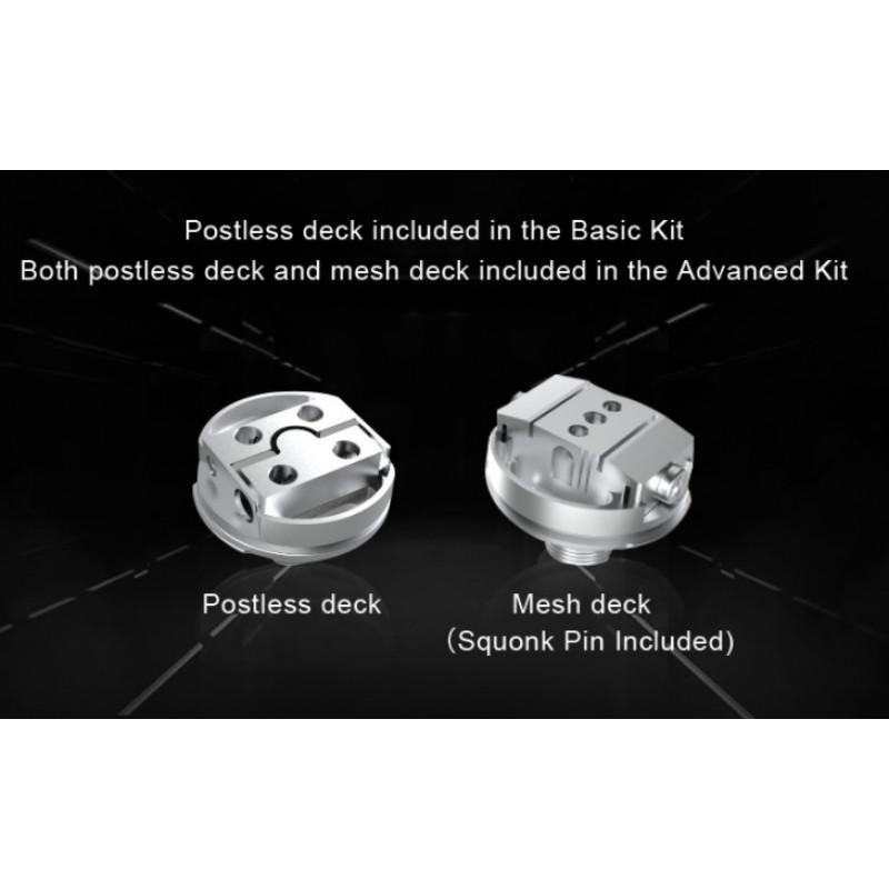 Steam Crave Aromamizer Plus V2 RDTA Advanced Kit Ansicht Decks
