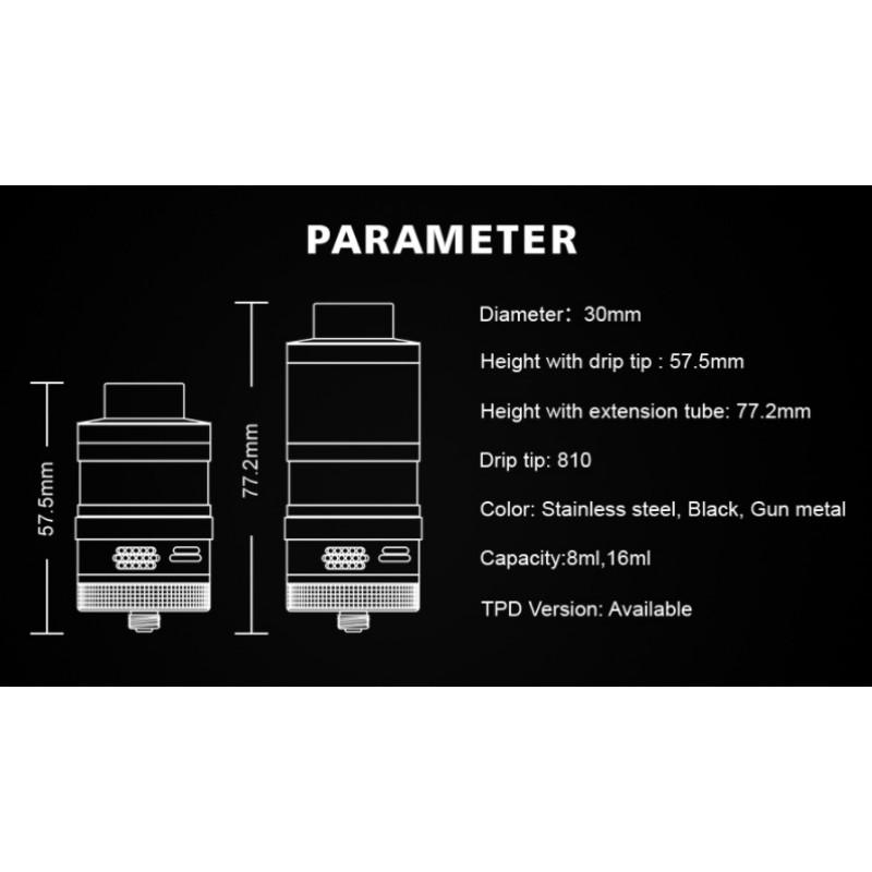 Steam Crave Aromamizer Plus V2 RDTA Advanced Kit Spezifikationen