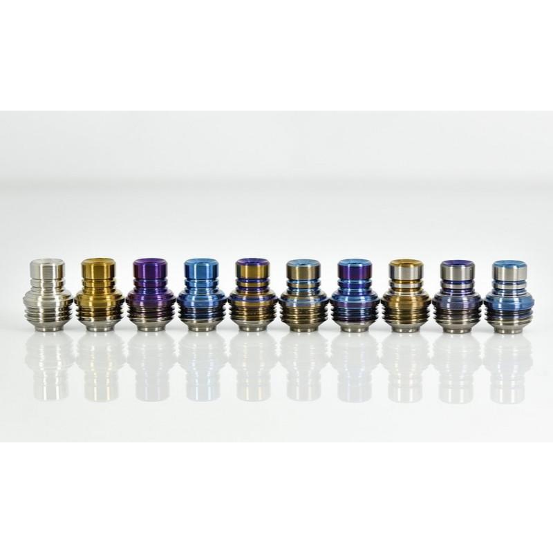 Koncio Mods Billet Box Titanium Drip Tip V2 Ansicht aller Farben