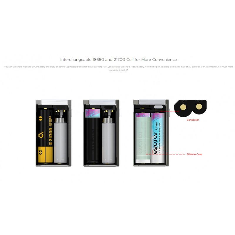 Wismec Luxotic MF Box Nutzungsmöglichkeiten