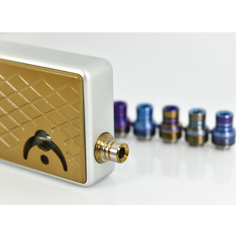 Koncio Mods Billet Box Titanium Drip Tip V2 Anwendungsbeispiel