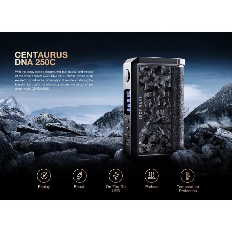 Lost Vape Centaurus DNA250C Features