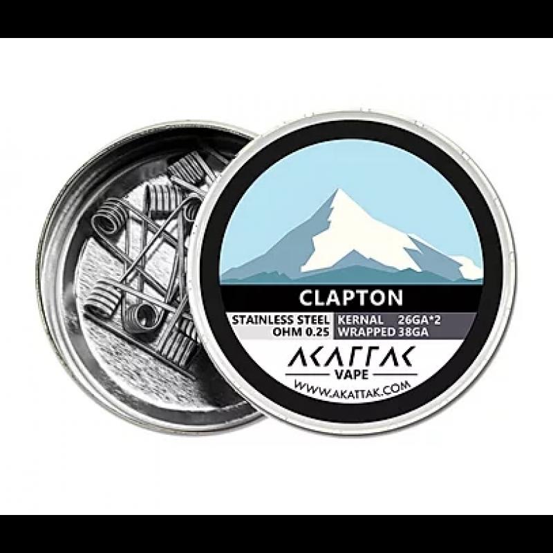 Akattak Clapton Fertig Coil SS316 Box