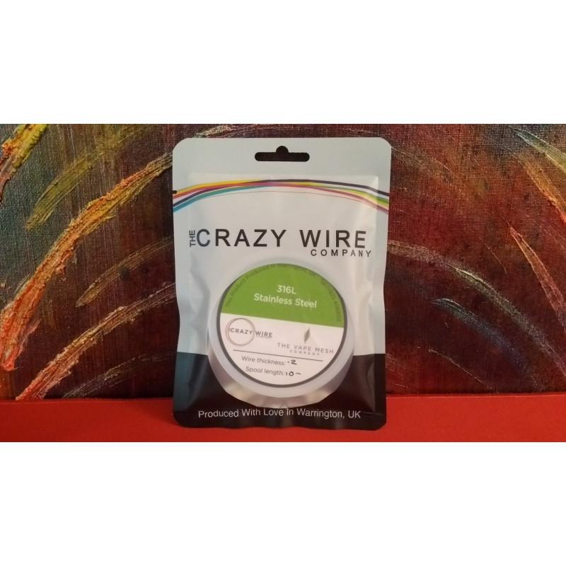 Crazy Wire Company SS316L 0.20mm 10m