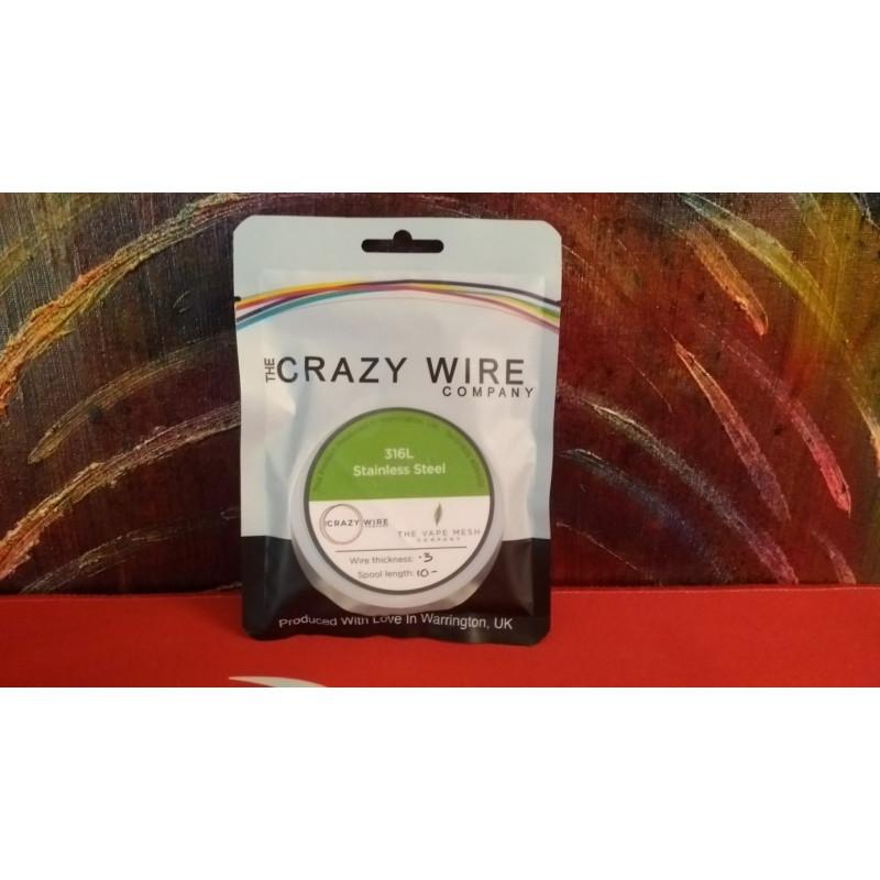 Crazy Wire Company SS316L 0.30mm 10m