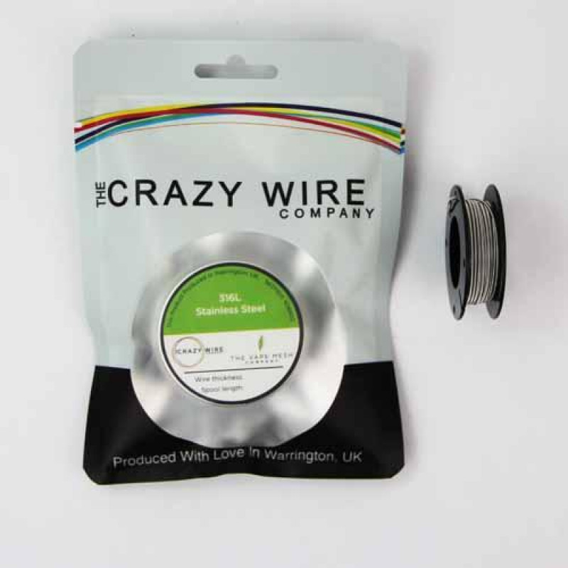 Crazy Wire Parallel SS316L